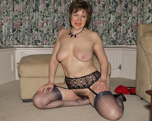 Erotik Kontakt mit sexy Oma